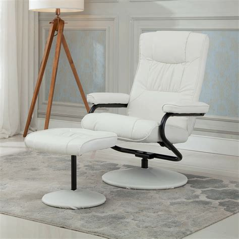 Lounge Armchair by Recliner Chair Swivel Executive Armchair Lounge W Ottoman