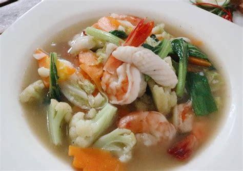 Keyword resep seblak, seblak homemade. Resep Seblak Kuah Seafood Kuliner Baru!