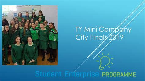 cork city student enterprise finals st angelas college