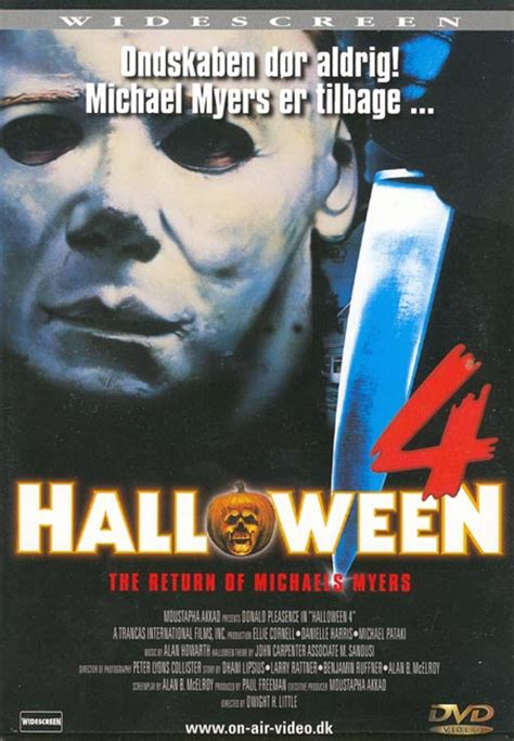 Halloween 4 Cast by German Dvd Cover For Halloween 4 The Return Of Michael