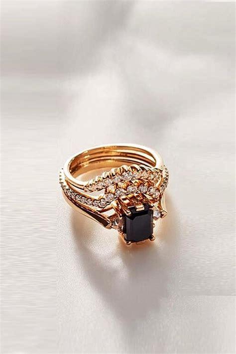 unique black diamond engagement rings   perfect
