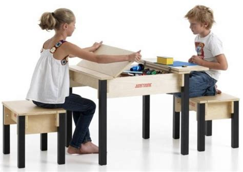 table chaise enfants storage table and chairs kinderspell