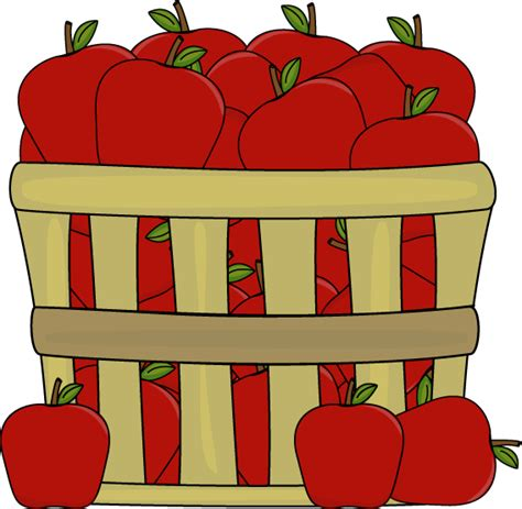 Apples Clipart Apples In A Basket Clip Apples In A Basket Image