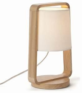 Lampe À Poser Scandinave : legno lampe d licate en ch ne scandinave lampe poser ~ Melissatoandfro.com Idées de Décoration
