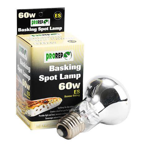 prorep basking spot bulb 60w es reptile