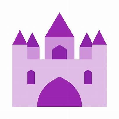 Castle Palace Clipart Transparent Purple Clip Svg