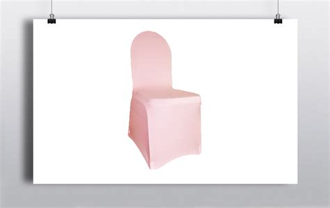spandex chair covers pink