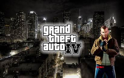 Gta Wallpapers Pc Theft Grand Games Iv