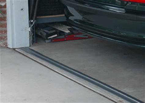 how to replace garage door seal garage door threshold garageflooringllc