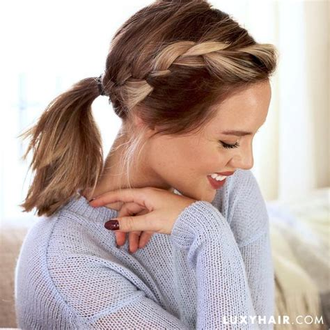 different ponytail styles for hair 7 different ways to wear a ponytail luxy hair 9071