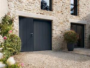Porte de garage et porte de salon double porte d entree for Porte de garage coulissante et double porte salon