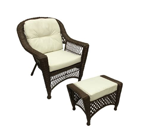 white wicker chair and ottoman wicker chair and ottoman cushions chairs seating