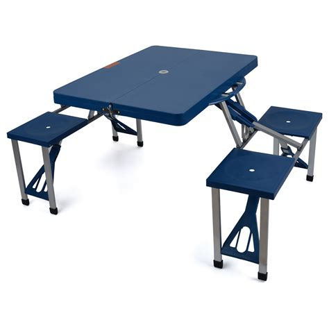 portable table and chairs portable folding table 4 chairs lightweight picnic dining