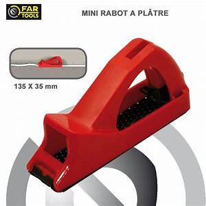 Rabot A Placo : mini rabot pour plaque de pl tre fartools fartools 212006 ~ Premium-room.com Idées de Décoration