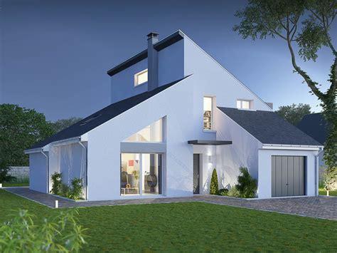 exemple de cuisine ouverte maison en ligne terre demeure constructeur de maisons individuelles en ile de