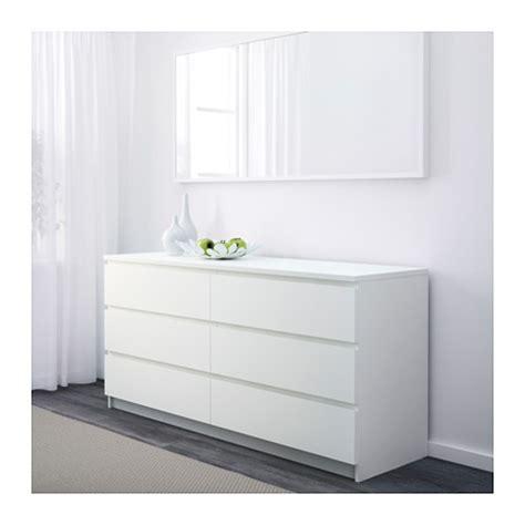 bureau ikea malm malm chest of 6 drawers white 160x78 cm ikea