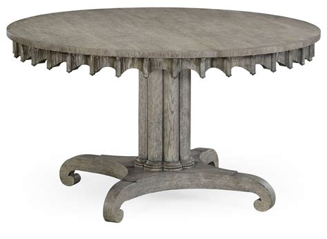 driftwood round dining table round to oval dining table gray driftwood color oak