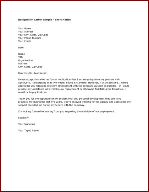 writing a letter of resignation luxury writing a letter of resignation cover letter exles 11289
