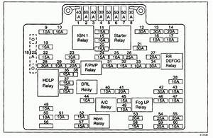 2004 Chevy Silverado Fuse Box Diagram