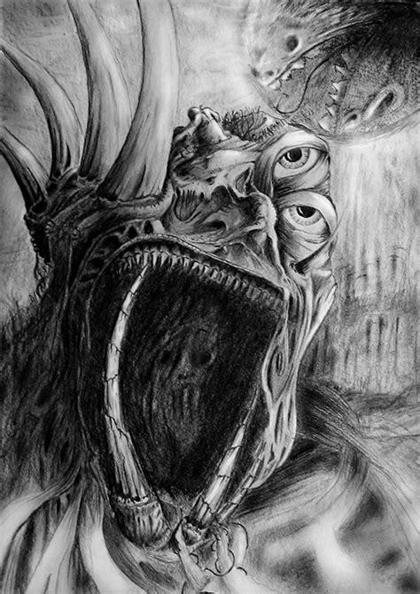 demon drawing  martin mikolajczyk
