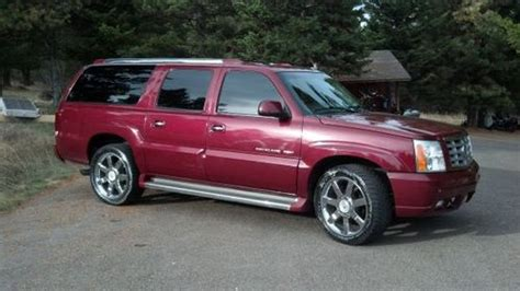 how does cars work 2006 cadillac escalade esv engine control find used 2006 cadillac escalade esv sport utility 4 door 6 0l in kalispell montana united states