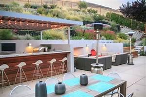 Bar Exterieur De Jardin : ordinaire amenagement terrasse exterieure design 14 bar ~ Dailycaller-alerts.com Idées de Décoration