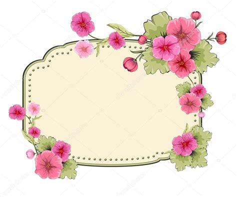 fiori per compleanni illustrazione fiori per un compleanno invito con