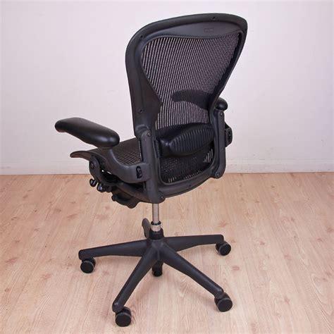 herman miller aeron size b mesh computer chair