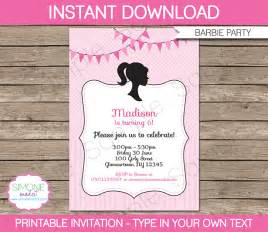 theme printables invitations
