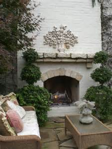 Beautiful Outdoor Patio Fireplace