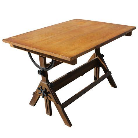 vintage drafting light table desk wood glass ebay