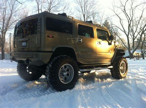 monster hummer 05 hummer h2 monster lifted 4x4 mud tires low miles custom