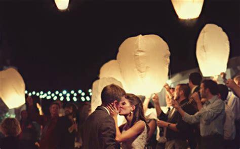 des lanternes volante pour votre mariage