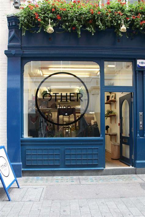 londons top shops   shop signage window display