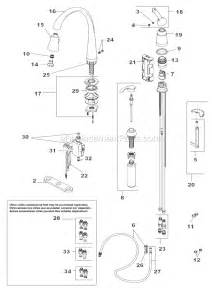 delta kitchen faucet parts diagram delta faucet 980t sssd dst parts list and diagram ereplacementparts com