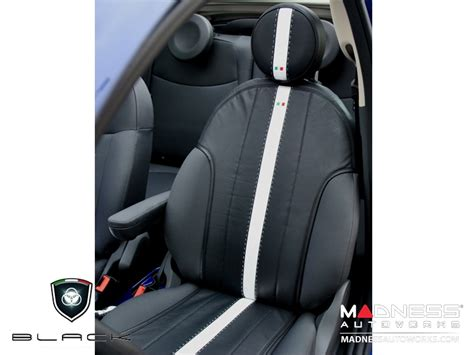 Fiat 500 Seat Covers by Fiat 500 Seat Covers Set Of Front Leather Seat Covers