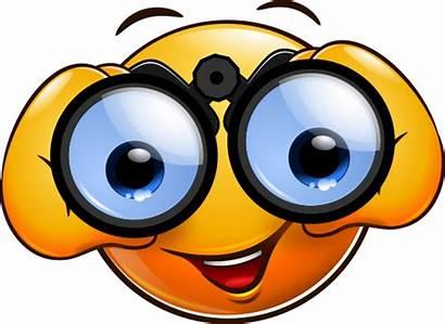 Smiley Watching Another Mondspeer Emoji Smileys Emoticon