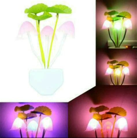 Lu Led Jamur Avatar jual lu tidur led sensor cahaya lu jamur lu
