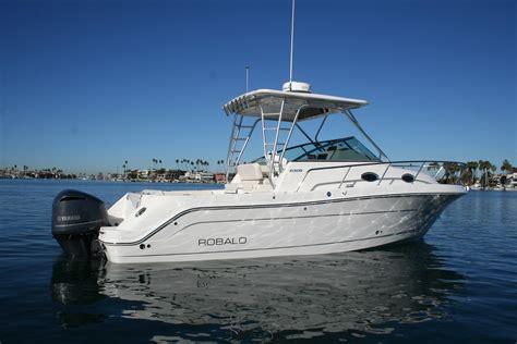 30 Ft Walkaround Boats by Robalo Boat Dealer Southern Ca Robalo Fishing Boat Sales
