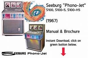 Seeburg Jukebox Manuals  U0026 Literature  Instant Pdf