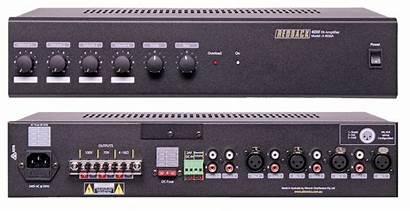 Amplifier Input Pa Redback 100v 40w Inputs