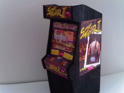 retro fighter ii scale arcade model
