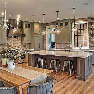 New, Rustic, Kitchen, Decoration, Ideas