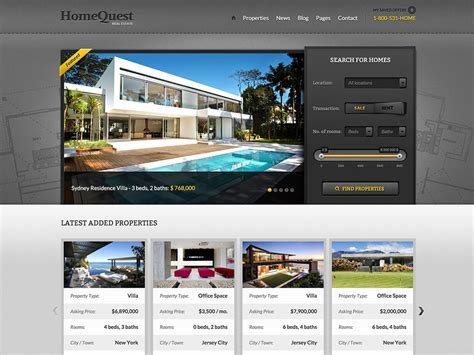 Real Estate Themes 30 Best Real Estate Themes 2019 Athemes