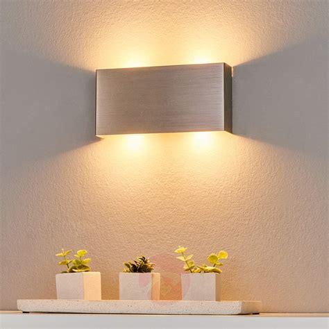 led wall lights dimmable maja dimmable led wall light 22cm lights co uk