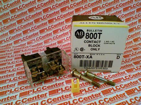 800txa By Allen Bradley  Buy Or Repair At Plccenter Plccentercom