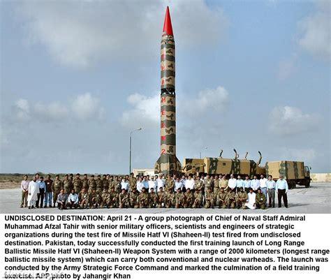 Pakistani Ghauri Missile