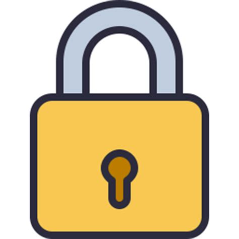 safe with lock and key lock icon outline filled icon shop free icons
