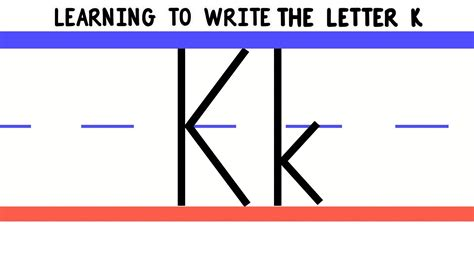 how do you spell letters write the letter k abc writing for alphabet 28501