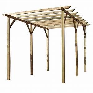 Construire Une Pergola En Bois : pergola bois pas cher ~ Premium-room.com Idées de Décoration